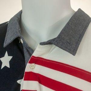 Tommy Hilfiger XL Flag Short Sleeve Polo Shirt NWT